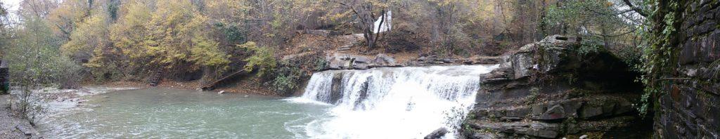 Первый водопад на реке Жане
