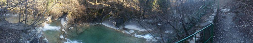 Второй водопад на реке Жане